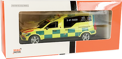 Modellerna från Scalemasters levereras fastskruvade i en snygg displaybox.