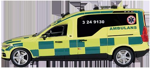 Nilsson XC90 Ambulans, Ambulanssjukvården Västmanland, Ca.pris: 79,95 EUR
