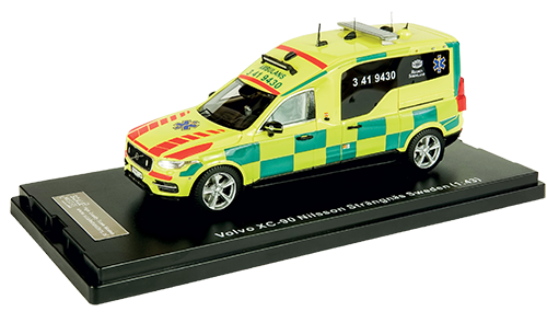 Nilsson XC90 Ambulans, Region Sörmland - Strängnäs, Ca.pris: 79,95 EUR