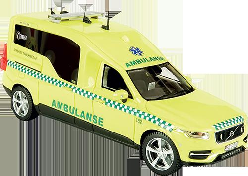 Nilsson XC90 Ambulans, Sykehuset Innlande HF, Ca.pris: 79,95 EUR